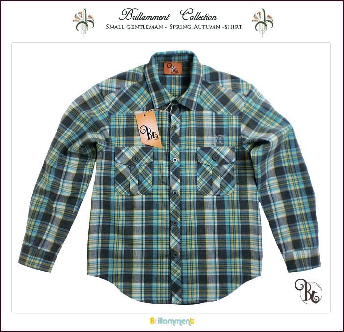5ee37786de9ec 子供服アドゥラブル - 子供服 王子様の普段着 きちんと感ある長袖シャツ ...