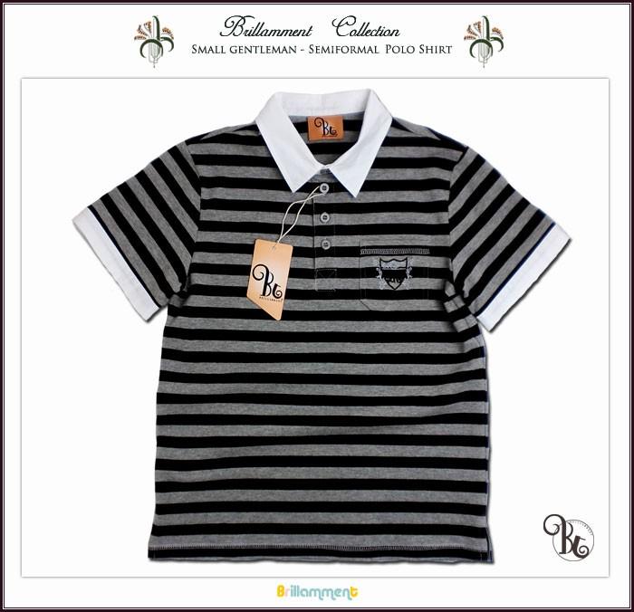77ea3d8ef9546 子供服アドゥラブル - 英国の王子様 好印象白シャツ襟 ブランドロゴと ...